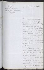 Draft Letter from Foreign Office to John Gildea re: No Further Information Received on William Gildea, Imprisoned in Cuba, March 24, 1897