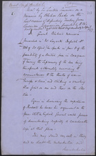 Memo from Sir Lintorn Simmons, April 30, 1877