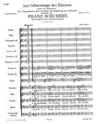 Am Geburtstage des Kaisers, D. 748 / Op. 157