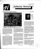 California Women: Bulletin, Issue I, 1990