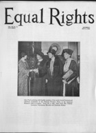 Equal Rights, Vol. 12, no. 13, May 09, 1925