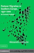 Postwar Migration in Southern Europe, 1950–2000: An Economic Analysis