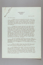 Letter from Carrie Chapman Catt to Katherine Blake, May 18, 1937