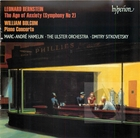 Bernstein: 'The Age of Anxiety' & Bolcom: Piano Concerto