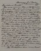 Letter from Walter Leslie to William and Jane Leslie, November 12, 1844