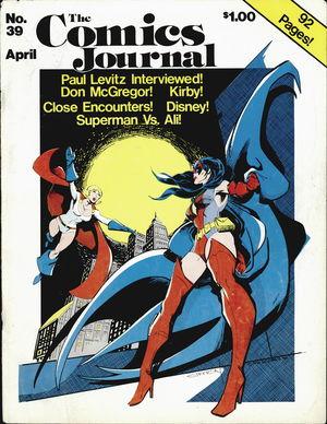 The Comics Journal, no. 39