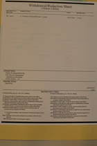 Clinton Library Withdrawal/Redaction Sheet from Clinton Presidential Records, NSC Records Management, ([Steinberg & Rwanda]), Box 215, Folder [9407874]