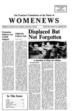 Womenews San Francisco, vol. 1 no. 2, September 1976