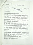 Field Report from A. G. Sandoval for November 1943 Report of Mision Tecnica Orense Agricultural Section