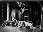 Production still from Little Black Sambo and The Swing Mikado by Shirley Graham Du Bois