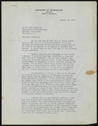 Letter from Jesse L. Nusbaum to Ruth Benedict, January 30, 1932