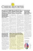 Cheese Reporter, Vol. 138, No. 7, Friday, August 9, 2013