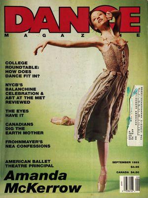 Dance Magazine, Vol. 67, no. 9, September, 1993
