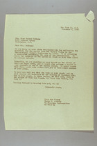 Letter from Mary van Kleeck and Susan B. Anthony (II) to Mary McLeod Bethune, November 9, 1945