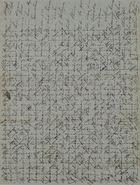 Cross-Written Letter, Unsigned, Unaddressed, September 1, 1842
