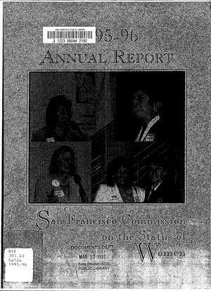 Annual Report, 1995-1996