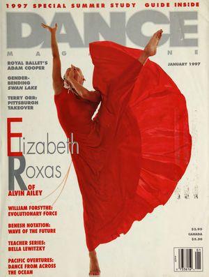 Dance Magazine, Vol. 71, no. 1, January, 1997