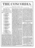 The Concordia, Vol. 1, no. 6, June, 1866