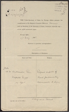 Forwarded Letter from the Marquess of Crewe to Sir Austen Chamberlain re: Proposed Despatch of French Parliamentary Commission to Syria, April 30, 1926