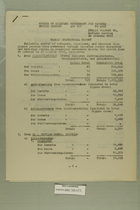 Weekly Statistical Report - October 21 to October 27, 1947