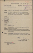 Brief from Public Health to D.D.M.G., Feb. 23, 1949