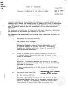 Statement of Policy, 1963