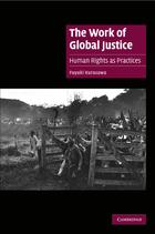 Cambridge Cultural Social Studies, The Work of Global Justice: Human Rights as Practices
