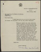 Letter from Alexander Bustamante to Sir Kenneth Blackburne re: Commonwealth Immigration into Britain, October 12, 1961