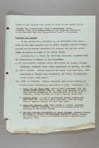 Report on the Problems and Status of Women in the United States, Prepared for International Women's Conference, Paris, November 1945