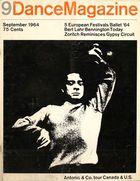 Dance Magazine, Vol. 38, no. 9, September, 1964