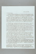 Letter from Jessie Lloyd O'Connor to Emily Balch, April 28, 1955