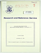 United States Information Agency, Research and Reference Service, re: Far East Reaction to the Sino-Indian Border Dispute, November 27, 1962