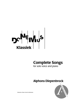 Four Songs To Dutch Sonnets | Alexander Street, a ProQuest Company