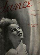 Dance (Magazine), Vol. 2, no. 1, April, 1937, Dance, Vol. 2, no. 1, April, 1937