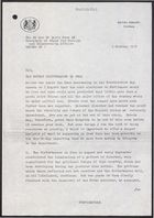 Letter from Anthony Parsons to Dr. David Owen re: The Recent Disturbances in Iran, October 9, 1978