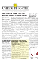 Cheese Reporter, Vol. 138, No. 38, Friday, March 14, 2014