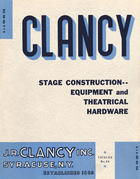 Clancy Stage Construction -- Equipment and Theatrical Hardware, no. 46