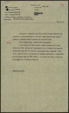 Circular Telegram from Secretary of State to Governor of Blackburne of Jamaica re: Gov't Protest Against Proposed Commonwealth Immigration Legislation, November 21, 1961