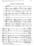 Finale No. 1 in D Major, D Major