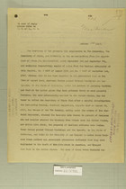 Letter from Secretary of War to Secretary of State, Oct. 14, 1919