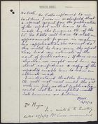 Memo between Dr. H. E. Magee and Mr. Peete re: Publication of West Riding Report, March 14, 1939