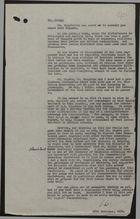 Letter from Ian Watt to Mr. Astley re: Improving Relations between West Indian and British Communities through Teacher Exchange, November 26, 1958