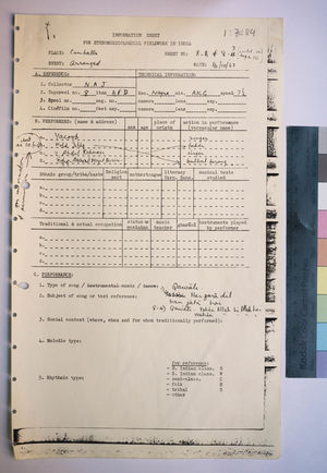 1-7-84 Information Sheets
