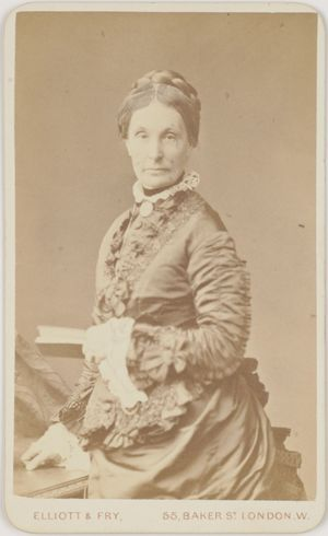 Carte De Visite Of Matilda Hindmarsh