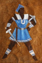 Afro-Brazilian Orisha Painting (photo)