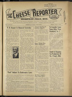 Cheese Reporter, Vol. 65, no. 36, Saturday, May 9, 1941