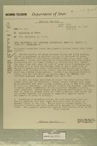 Telegram from Edward B. Lawson in Tel Aviv to Secretary of State, September 13, 1956