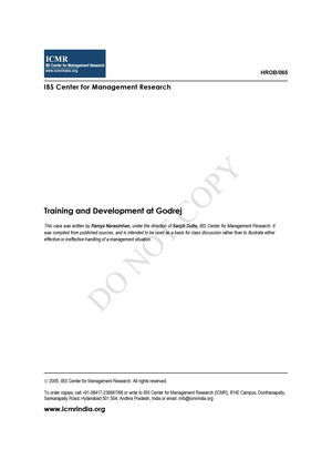 training and development question paper with case study