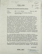 Memo from R. P. Davies to Assistant Secretary Battle re: Conversation with Goronwy Roberts, June 10, 1968