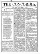 The Concordia, Vol. 1, no. 9, September, 1866
